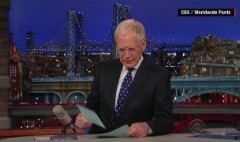 Top moments from David Letterman finale
