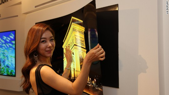 This is the thinnest TV ever