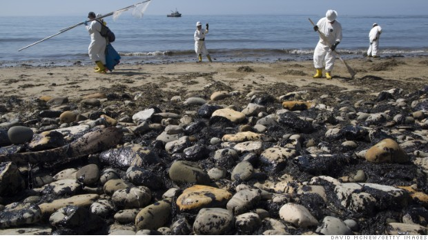 Oil Company In Ca Spill Has Questionable Safety Record