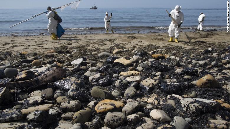 ca oil spill