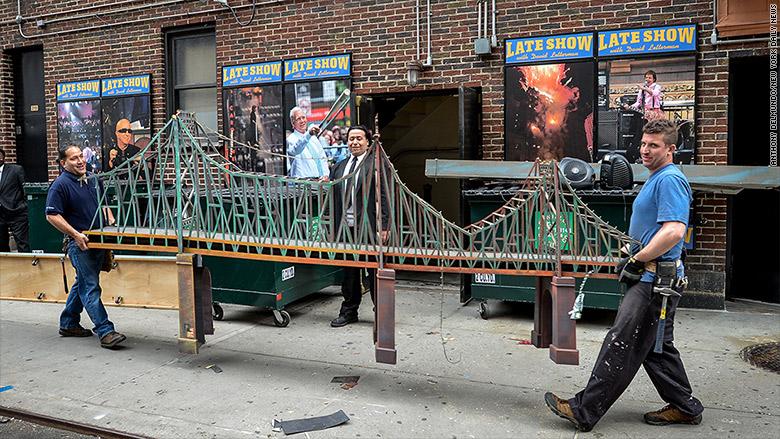 letterman set bridge