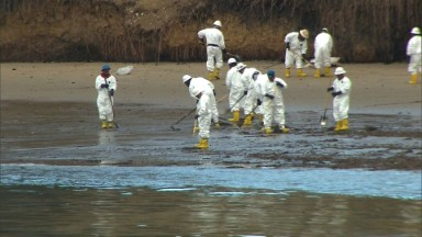 California oil spill: Company's safety record under fire