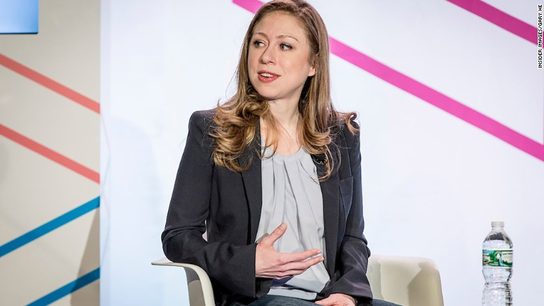 chelsea clinton internet week