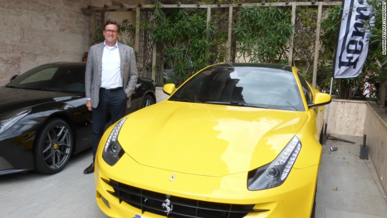 Monaco car collector profits from 'flipping' Ferraris