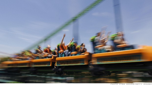 Theme parks ready for summer -- and their stocks are soaring