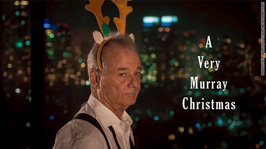 Netflix to wish you 'A Very Murray Christmas' this December