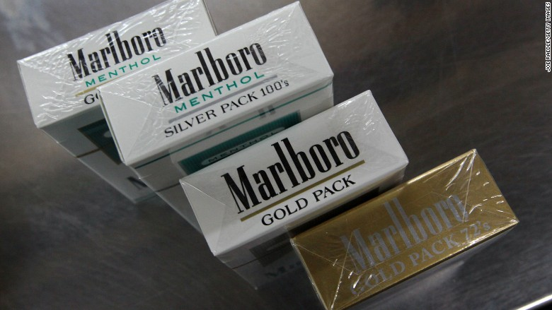 Cigarettes Marlboro cost in France