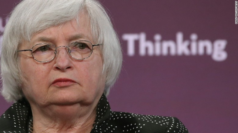 Janet Yellen: Fed can't risk 'overheating the economy'