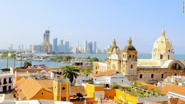 top travel destinations millenials cartagena