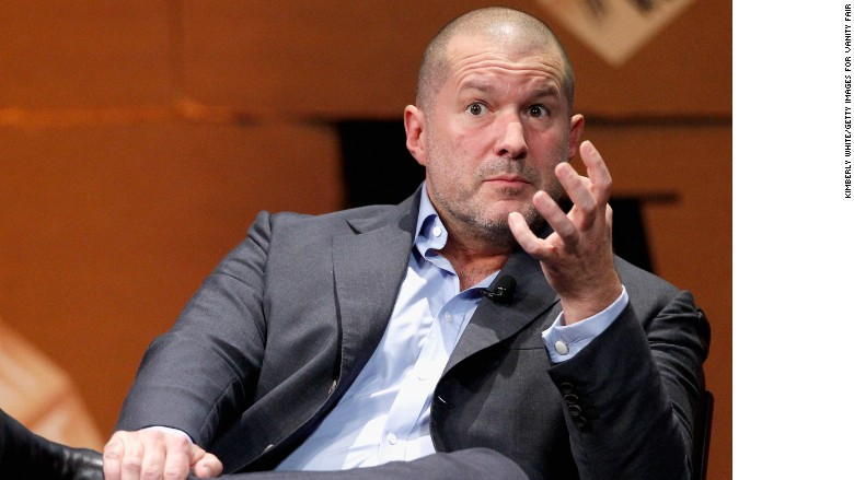 Apple promotes design guru Jony Ive