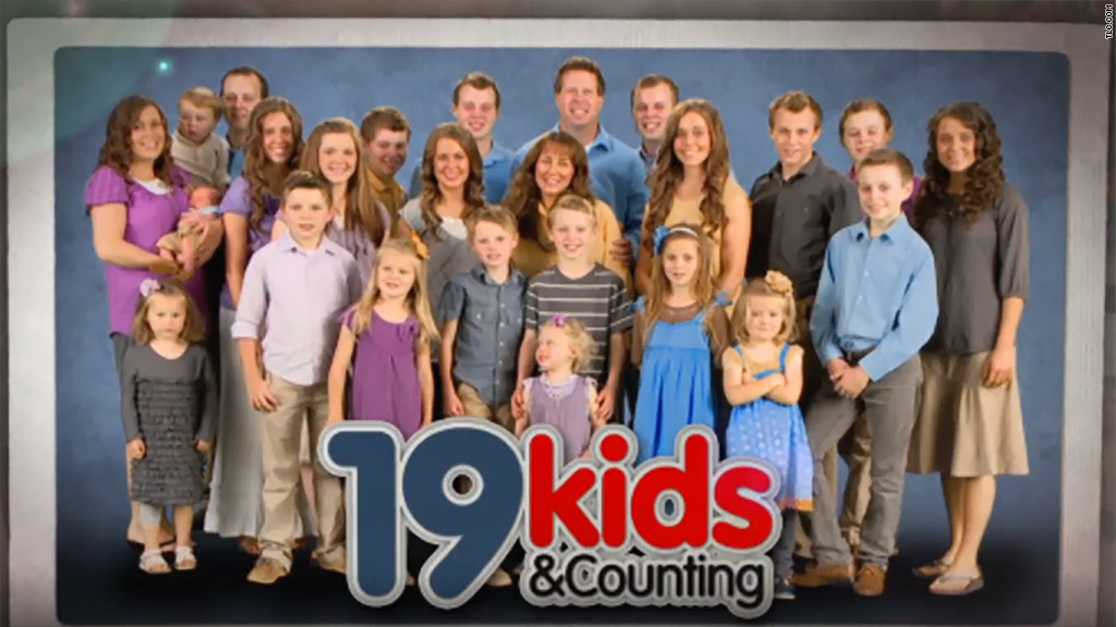 17 kids and counting cancelled stamp