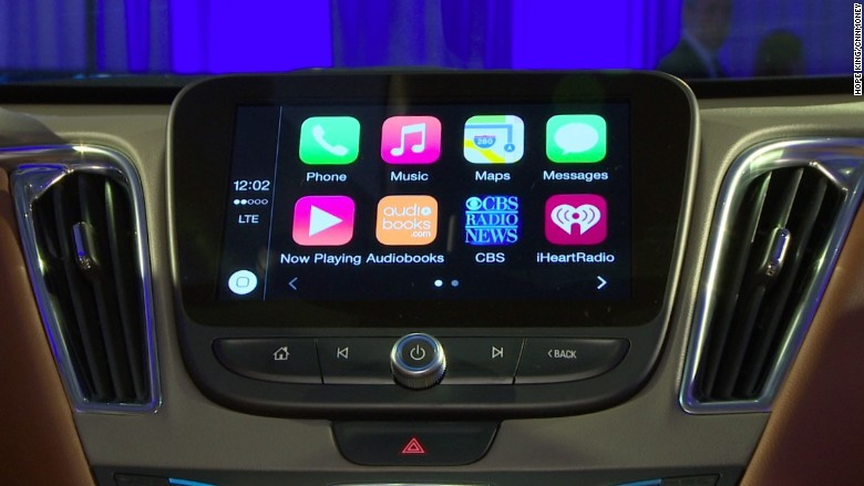 chevy malibu 2016 carplay