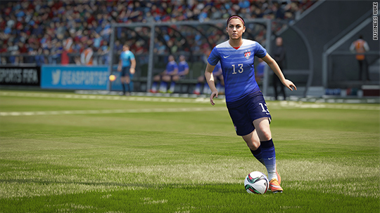 EA unveils 'FIFA' soccer game with women day after arrests
