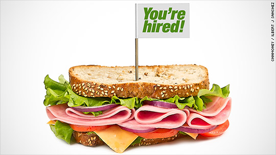 How to get a free lunch and a new job