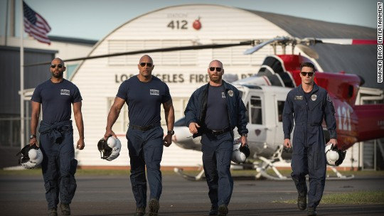 'San Andreas' and The Rock brace for shaky box office weekend