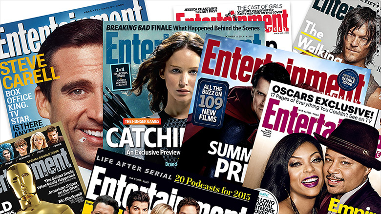 entertainment weekly mags