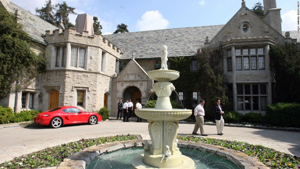 My childhood home was The Playboy Mansion