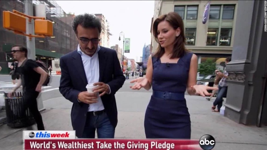 Meet the Giving Pledge's newest billionaire