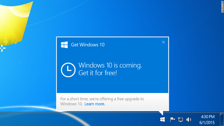 Windows 10 upgrade: You'll have to wait