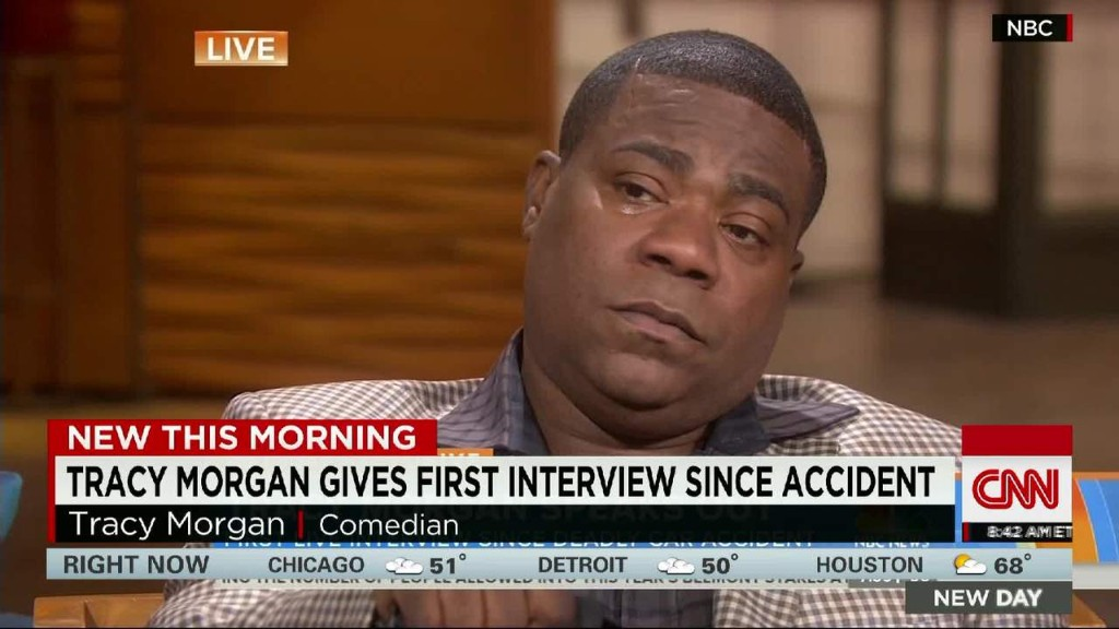 Tracy Morgan: 'Walmart did right by me'