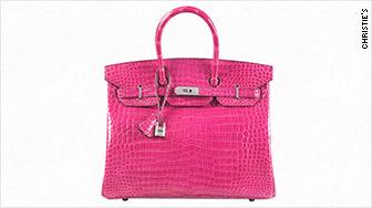 fuchsia hermes handbag