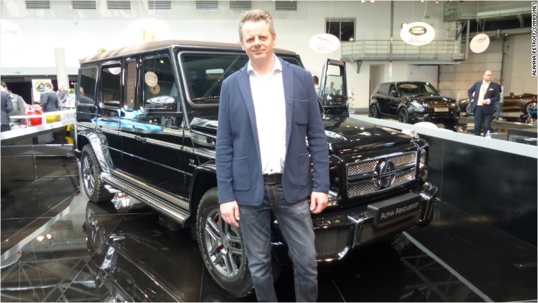 Armored Cars Get Luxury Makeover For Celebrities And Vips