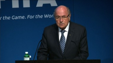 FIFA's Sepp Blatter stepping down