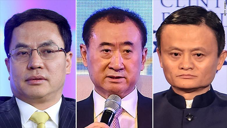richest chinese men