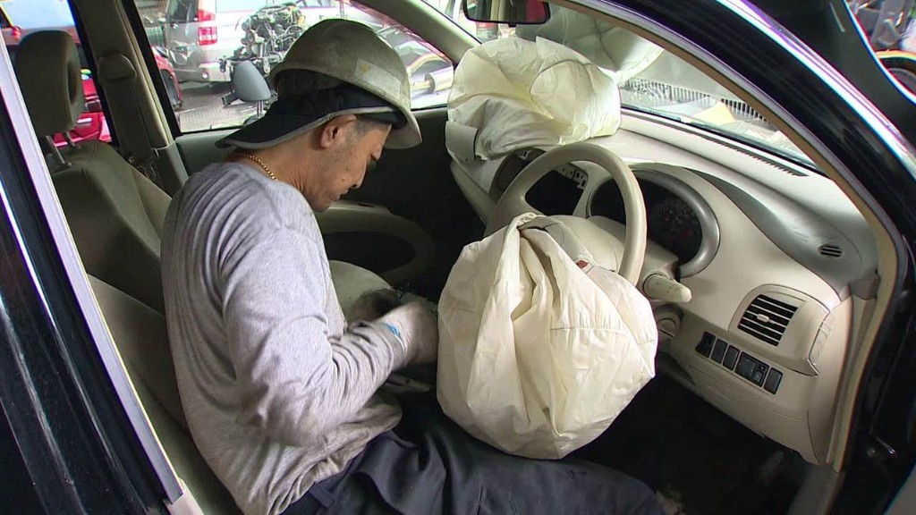 Takata Airbags A Threat To Junkyard Workers