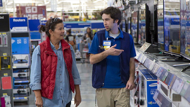 Walmart is cutting workers' hours at some stores