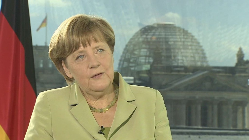 Merkel: Greece should be more like Ireland
