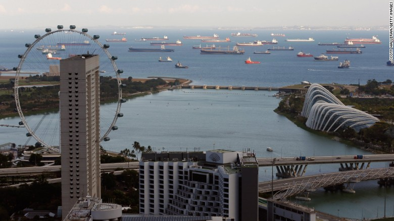 oil supertanker
