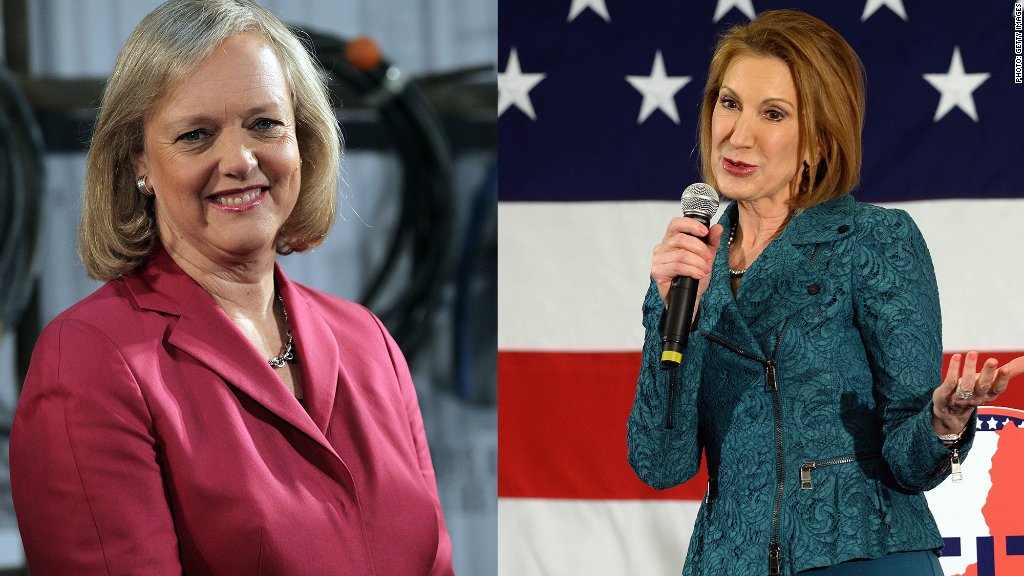 HP CEO defends Carly Fiorina's 'strengths'