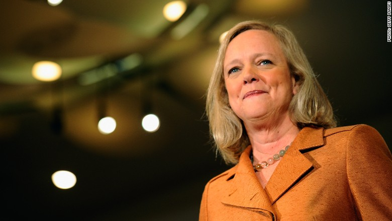 HP Enterprise CEO Meg Whitman to step down