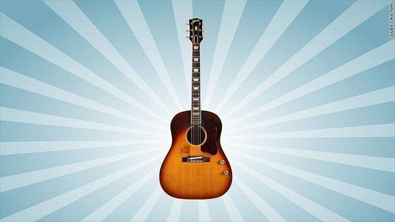 lennon guitar auction