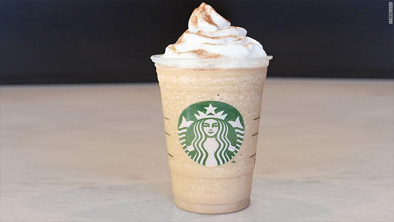 cinnamnon roll frappuccino