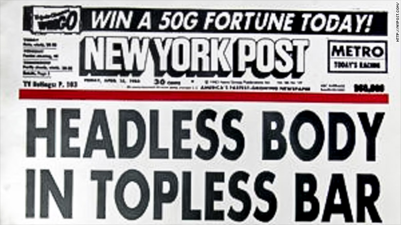 ny post headless body topless bar