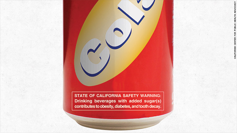 soda warning label
