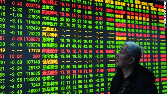China stocks free fall into a bear market