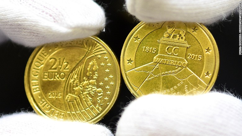 Waterloo coin