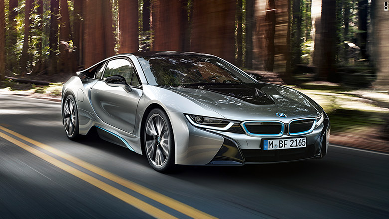 bmw i8 best cars for the uber rich cnnmoney. Black Bedroom Furniture Sets. Home Design Ideas
