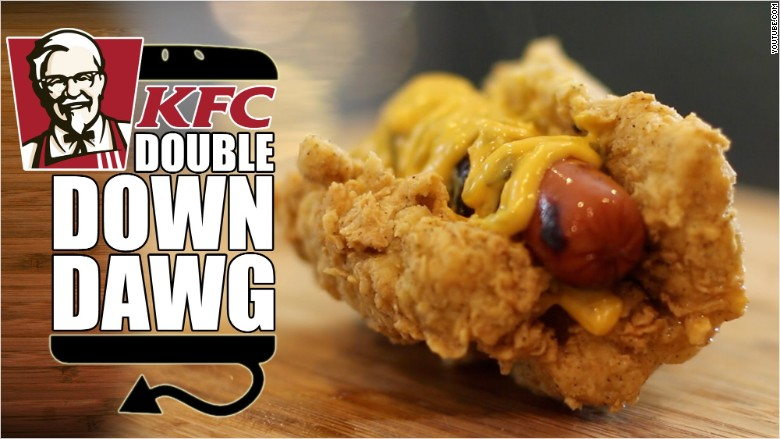 kfc double down combo price