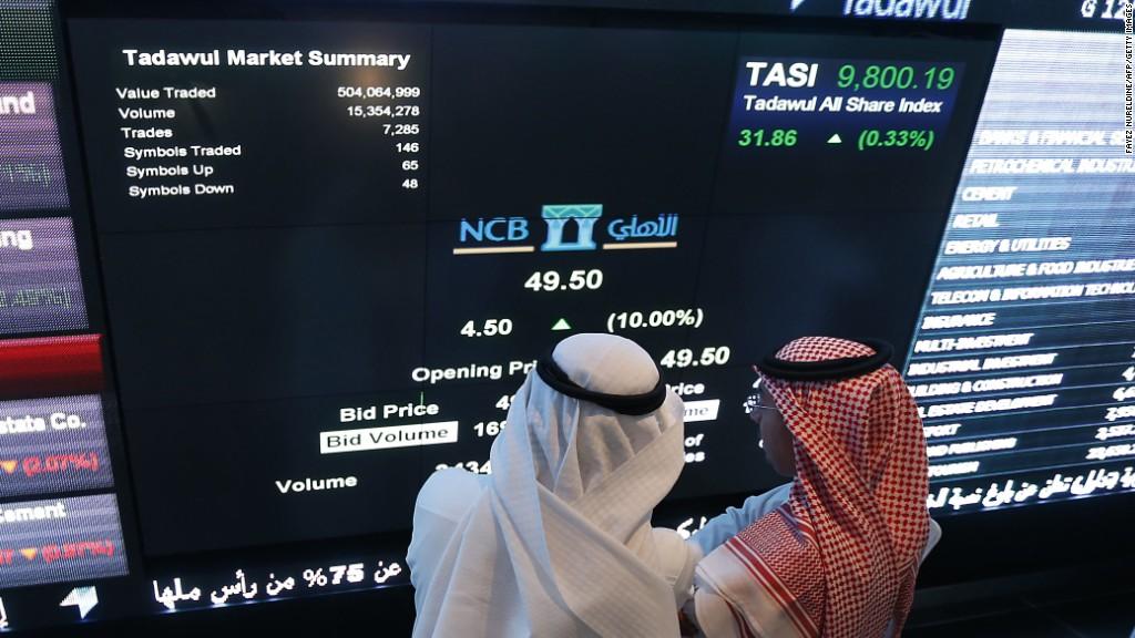 Slump in oil prices hits Saudi Arabia