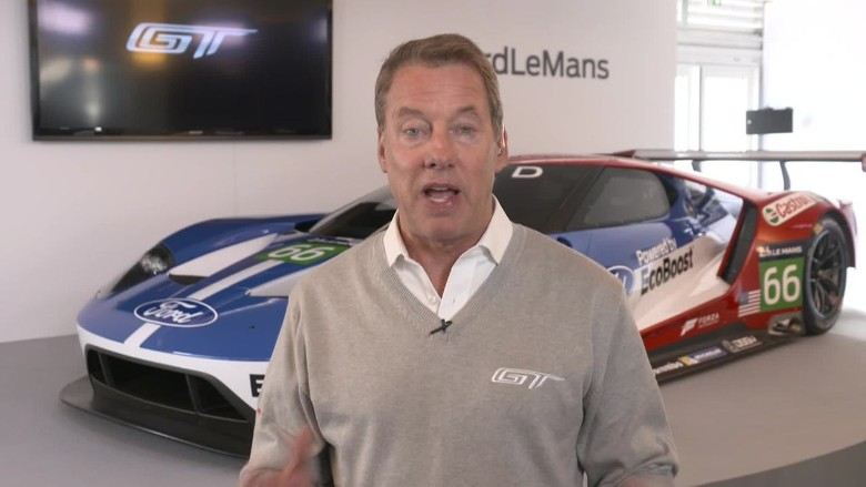Ford 39 s gt is a 39 test lab 39 for company video business news for Ford motor company pension calculator