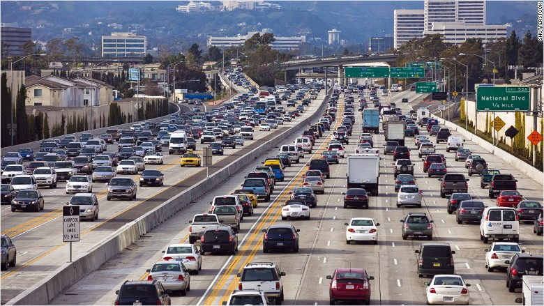 commute traffic Los Angeles