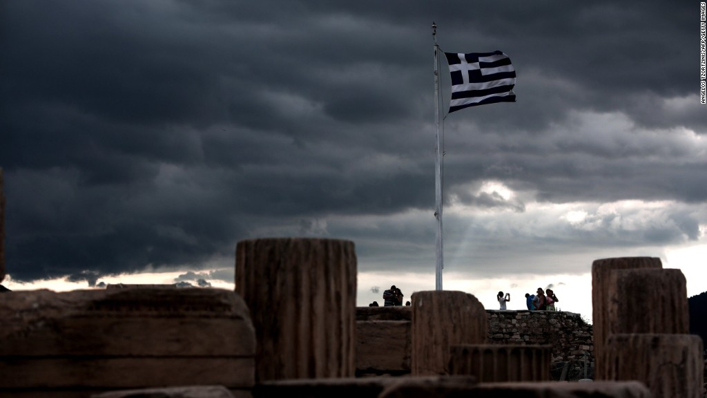Greece's outsized market impact