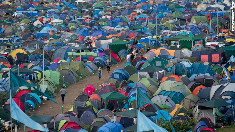 glastonbury festival tents cost