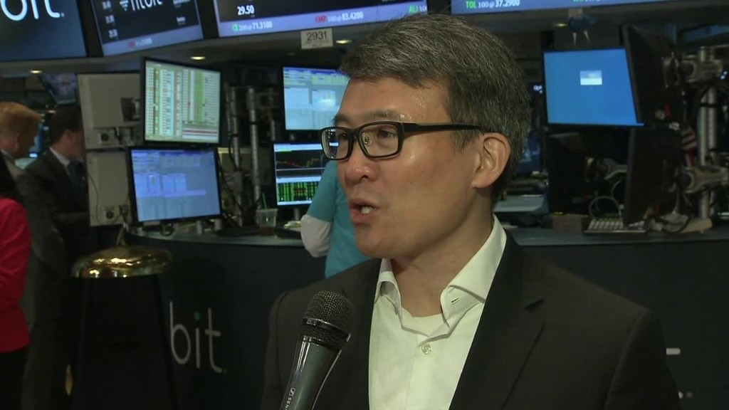 Fitbit CEO: 'We're the clear leader'