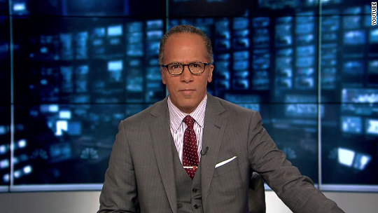How Lester Holt is getting ready for Monday's debate