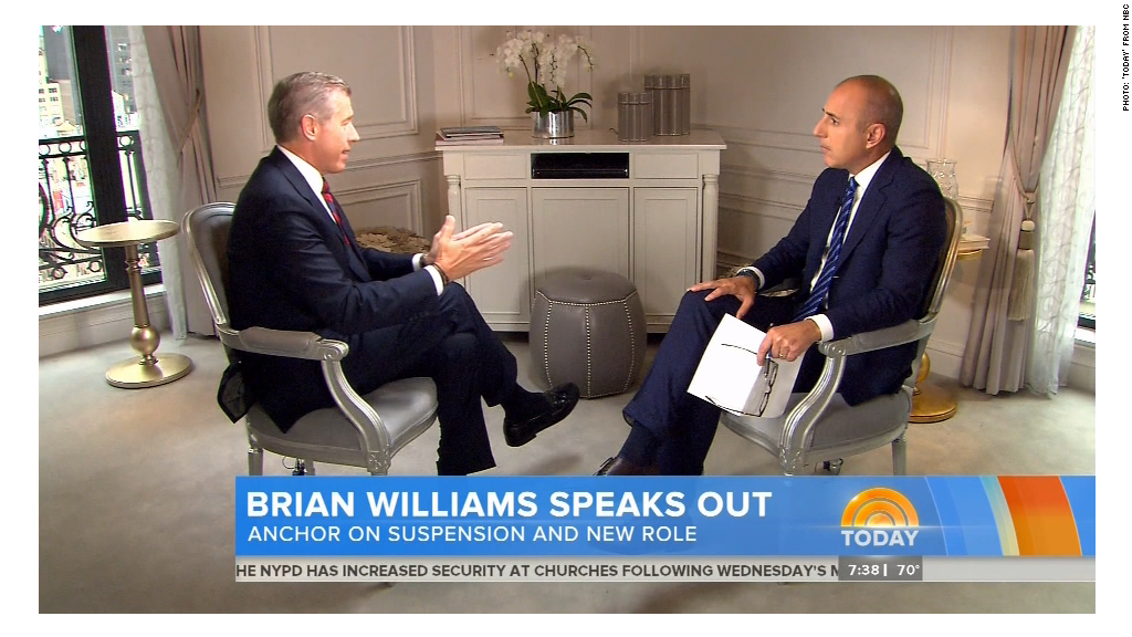 Brian Williams: 'I said things that weren't true'